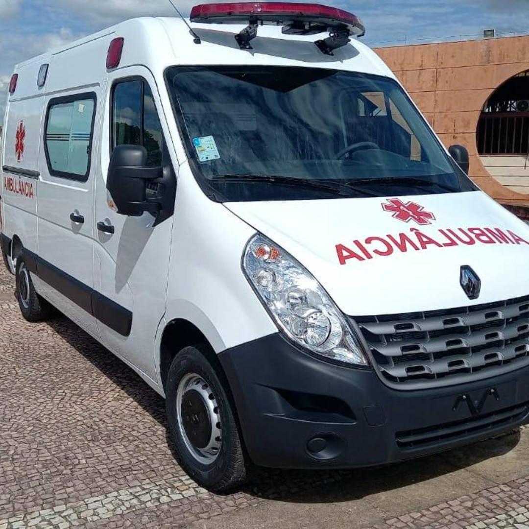 Nova Ponte ganha uma ambulância UTI Móvel zero quilômetro